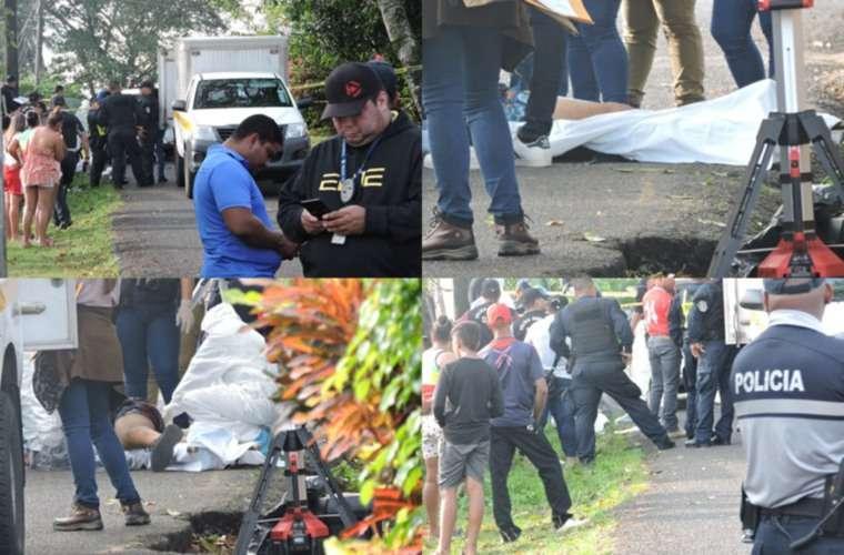 Los familiares de los fallecidos llegaron al lugar de los hechos para conocer la triste noticia. Fotos: Landro Ortiz