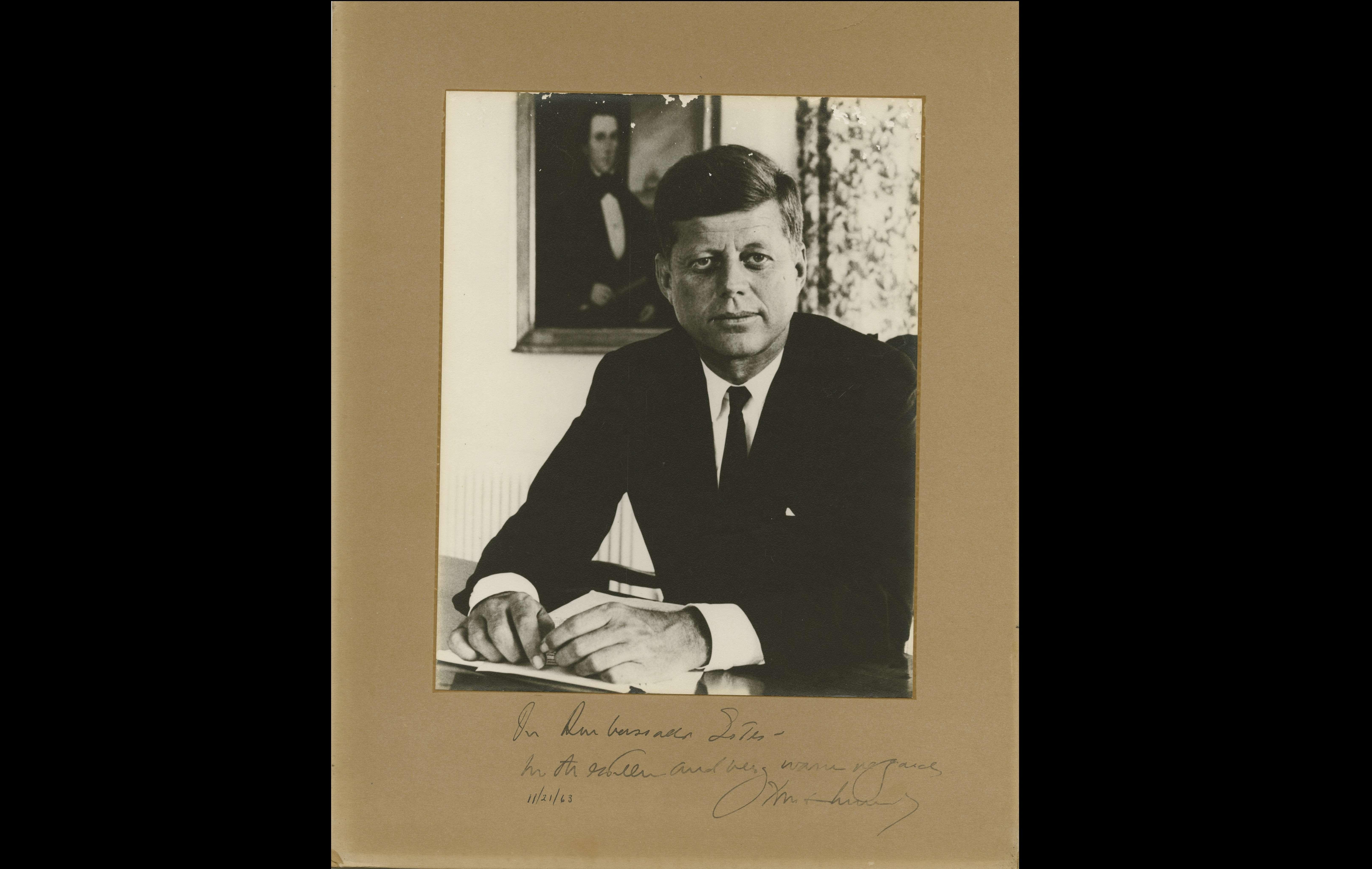 Presidente John F. Kennedy asesinado en 1963.  /  Foto: AP Archivo