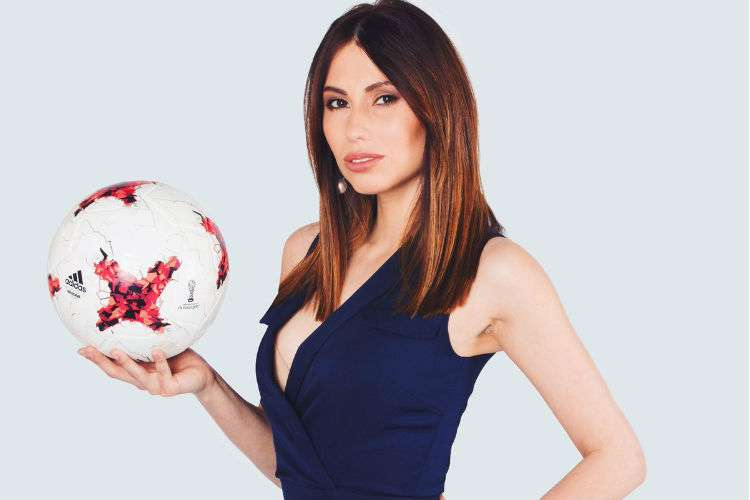 La periodista rusa Maria Komandnaya estará al frente del sorteo del Mundial Rusia 2018.