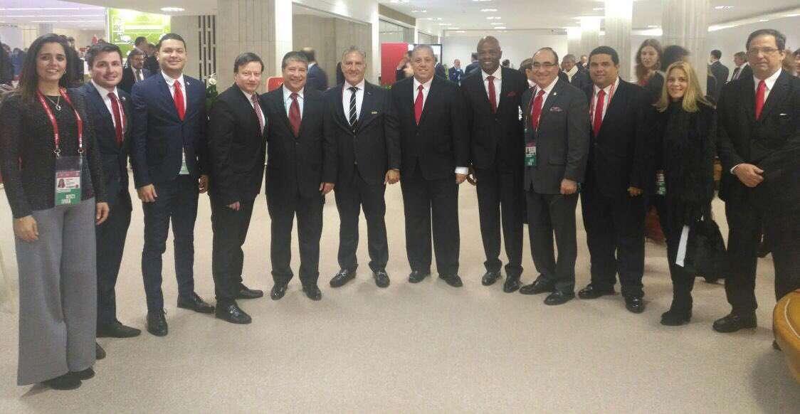 Delegación de Panamá. Foto: Fepafut