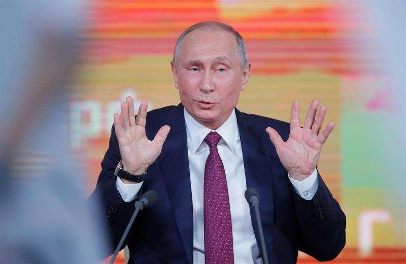El presidente ruso, Vladímir Putin. / EFE Archivo