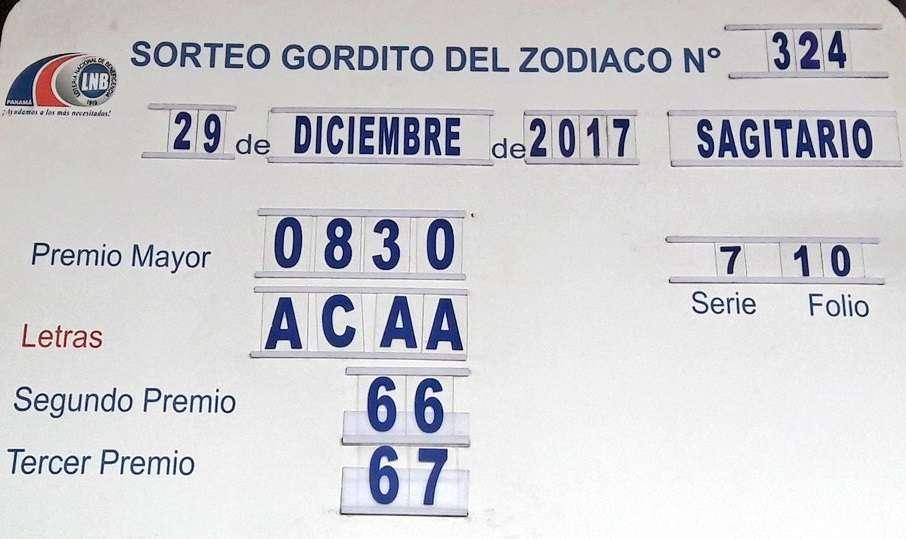 El billete fue vendido en el sector  Paso Canoas, donde el nuevo millonario obtuvo la fracción ganadora 0830, serie 7 y folio 10.