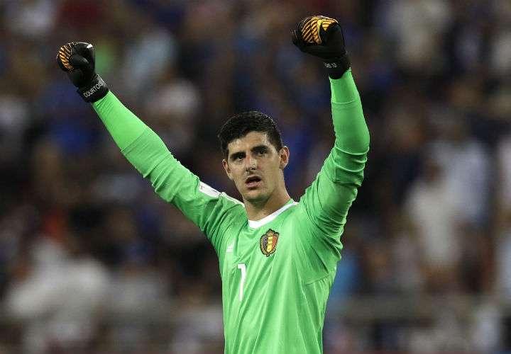 Thibaut Courtois es el portero titular de la selección de Bélgica. Foto AP