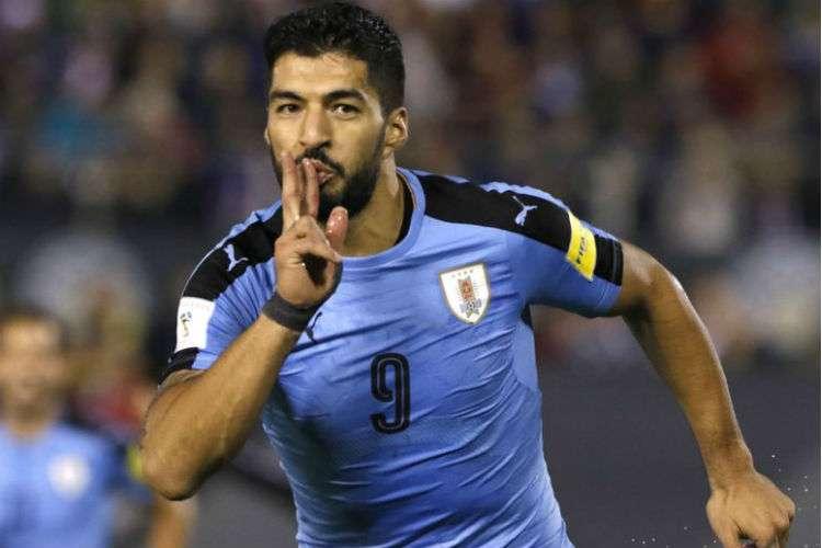 Luis Suárez espera tener la revancha en el Mundial de Rusia 2018.