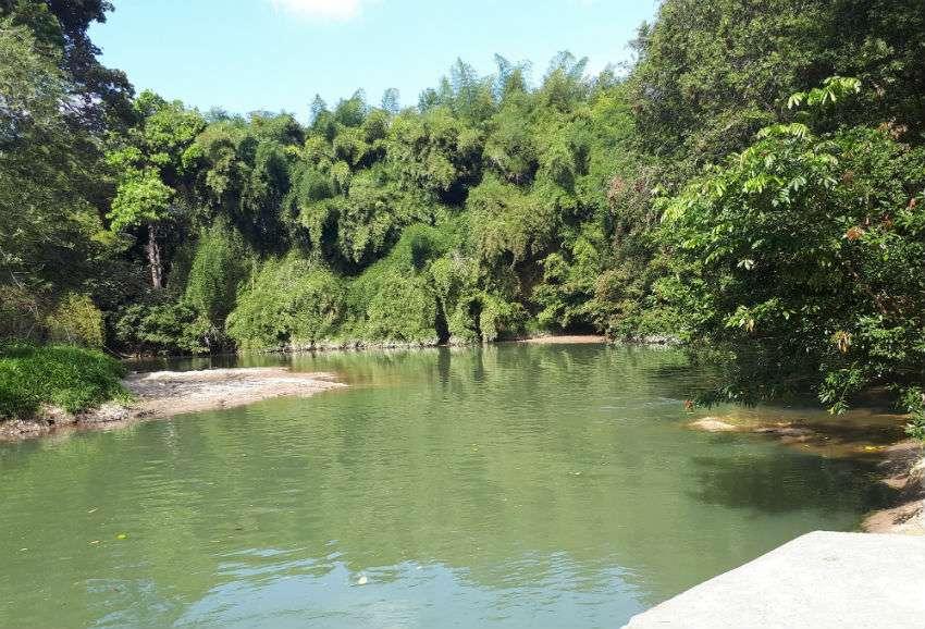 En Penonomé se extraerá el agua para culecos del  río Zaratí. /  Foto: Elena Valdez