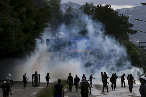 """El vicepresidente de la Asamblea Nacional, diputado Freddy Guevara, anunció que la alianza opositora intensificará este viernes las acciones contra el proceso constituyente con una """"toma de Venezuela"""".  Foto: AP"""