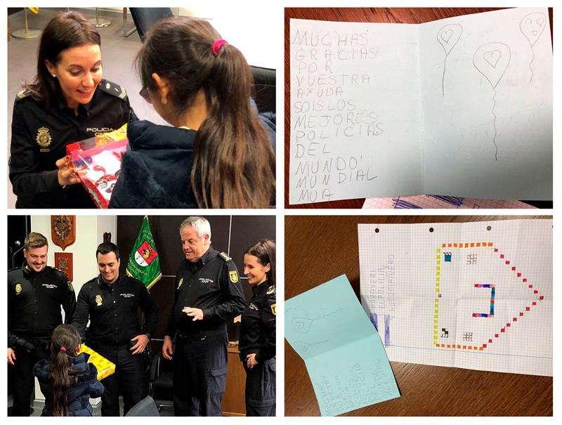 Niña de 8 años que estuvo a punto de ser raptada por un presunto pedófilo hace dos semanas en una plaza de Alicante. EFE