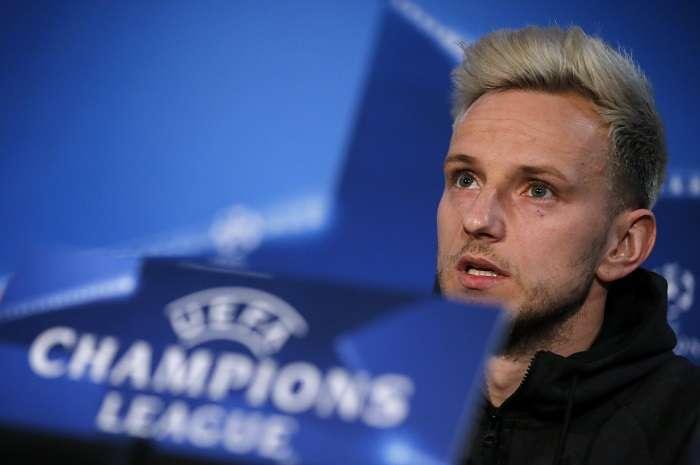El centrocampista croata del Barcelona Ivan Rakitic/ AP