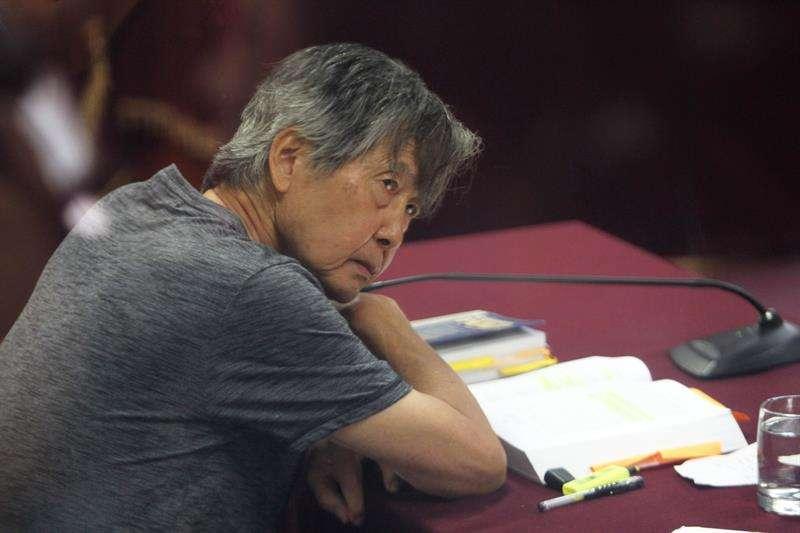 En la imagen, el expresidente peruano Alberto Fujimori. EFE Archivo