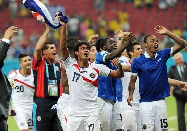 El fútbol costarricense estará en el Mundial Rusia 2018./ La Nación