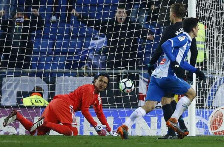 El Espanyol ha cortado la racha del Real Madrid. Foto: AP