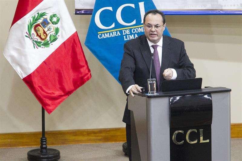 El presidente del Banco de Desarrollo de América Latina (CAF), Luis Carranza. EFE/Archivo