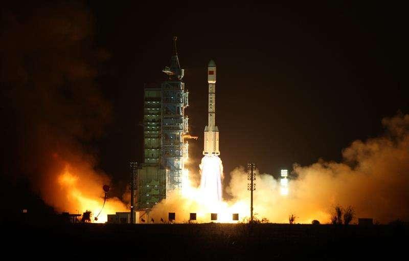 El laboratorio chino  Tiangong-1