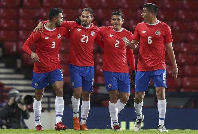 Costa Rica jugará su quinta participación en una Copa del Mundo.