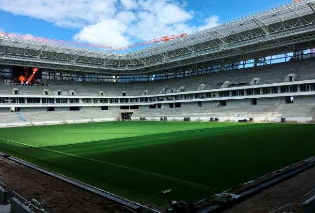 Kaliningrado es uno de los 12 estadio que se utilizarán en la Copa del Mundo.