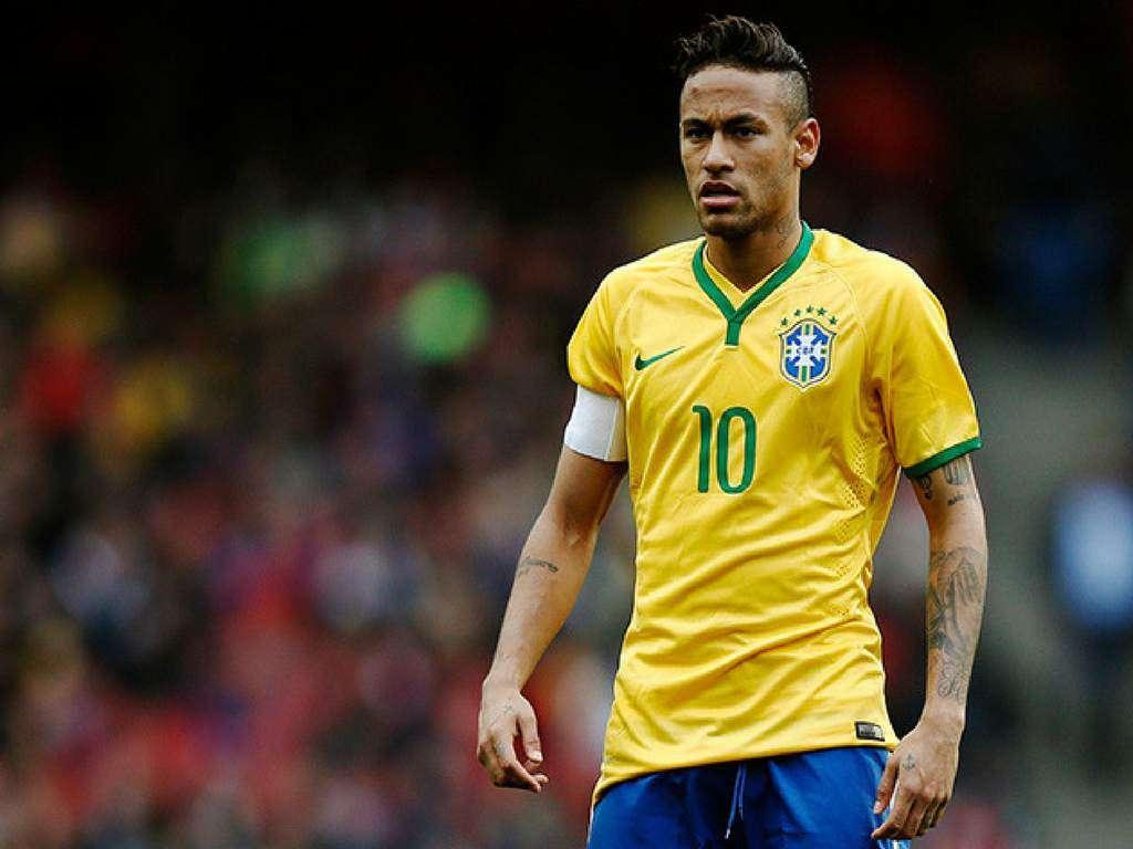 Neymar Jr., estrella de la selección brasileña/ AP