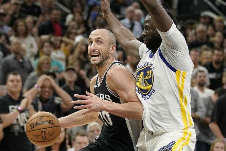 Manu Ginóbili fue una de los jugadores claves de San Antonio Spurs. Foto: AP