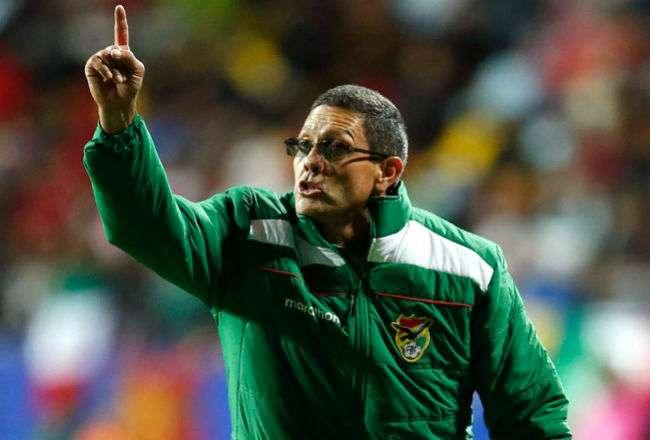 El seleccionador de Bolivia, Mauricio Soria. Foto: EFE