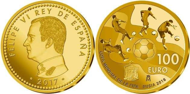 Las dos monedas reproducen en el anverso el retrato a izquierda del rey Felipe VI.