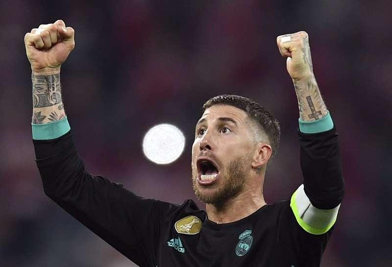Sergio Ramos, defensor del Real Madrid. / Foto AP