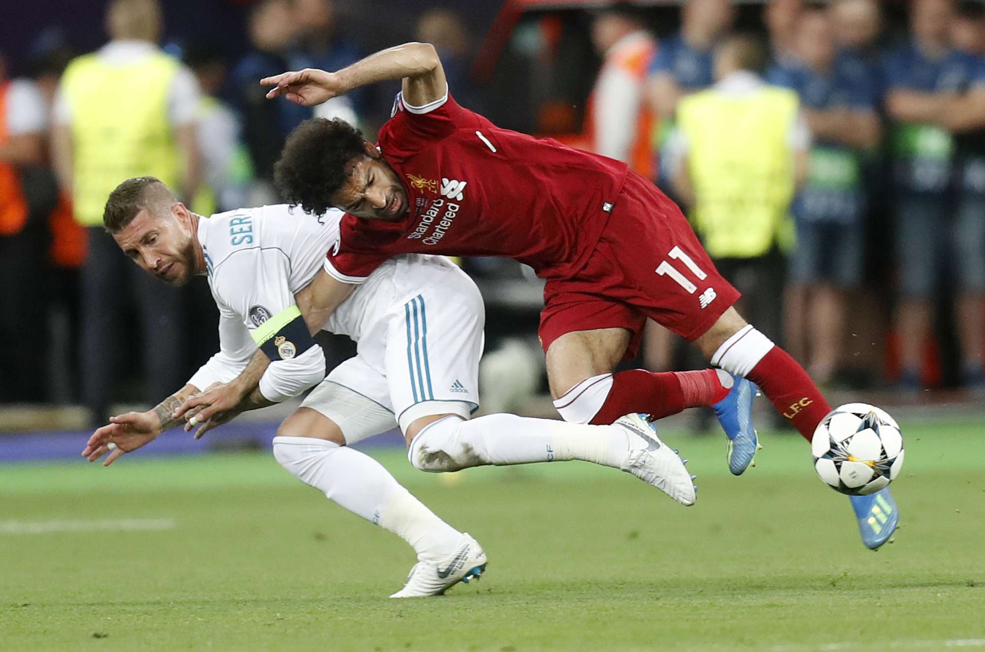 El jugador Mohamed Salah. Foto: AP