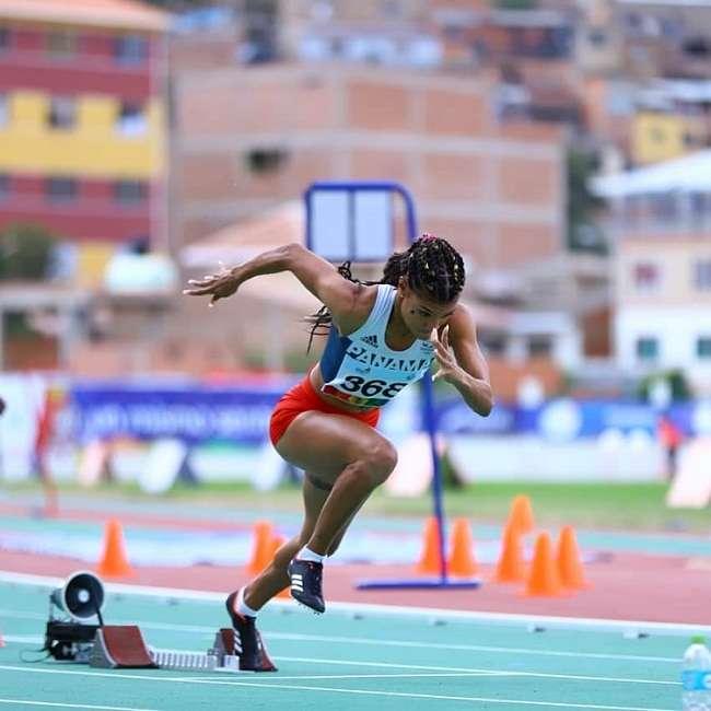 La deportista estará compitiendo en los próximos Juegos Centroamericanos y del Caribe, en Colombia. Foto: COP