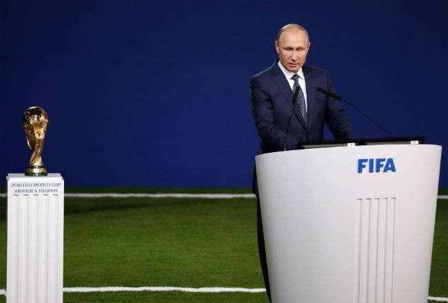 El presidente  Vladímir Putin. Foto: EFE