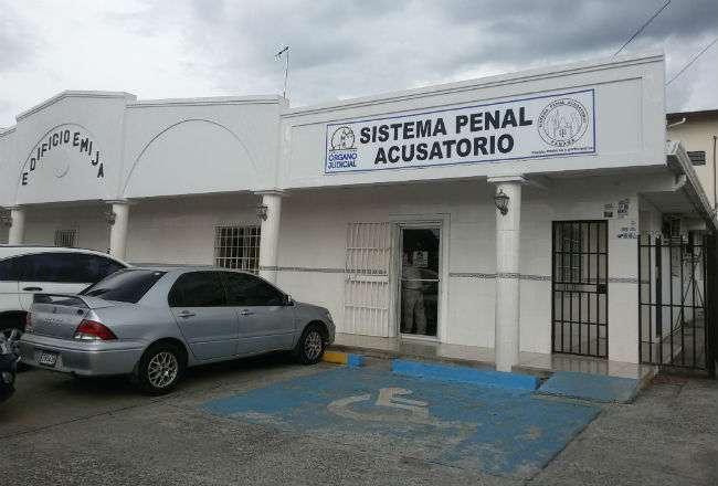 Vista general de la sede del Sistema Penal Acusatorio en Veraguas.