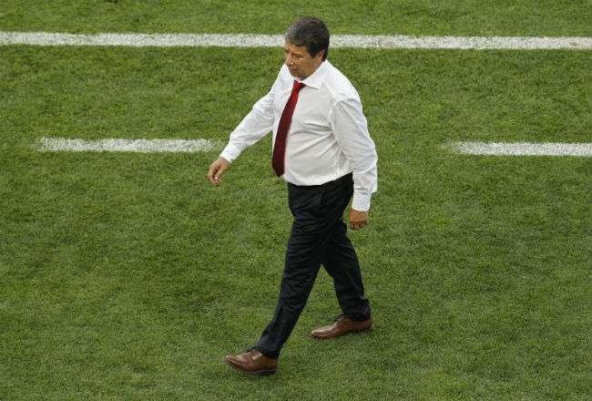 El entrenador Hernán Darío Gómez. Foto: AP