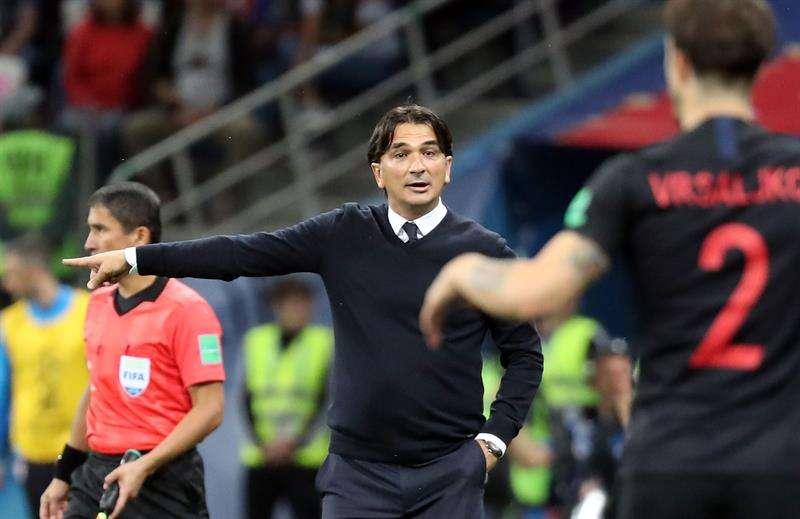 """Dalic: """"Obligamos a Caballero a cometer un error"""". Foto EFE"""