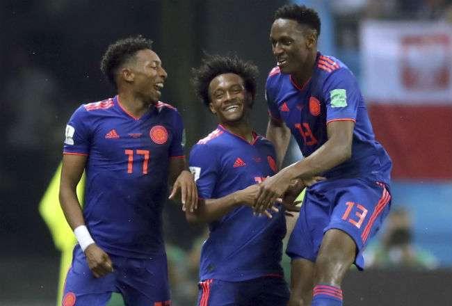 Colombia viene de golear 3-0 a Polonia en la segunda jornada del grupo H.