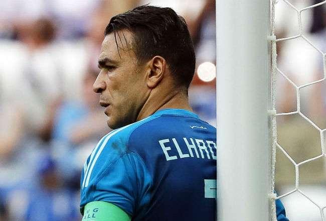 El portero de Egipto  Essam El-Hadary. Foto:EFE