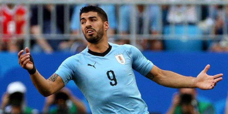 Suárez venía de hacer historia al convertirse en el primer jugador uruguayo en tres mundiales consecutivos. Foto EFE