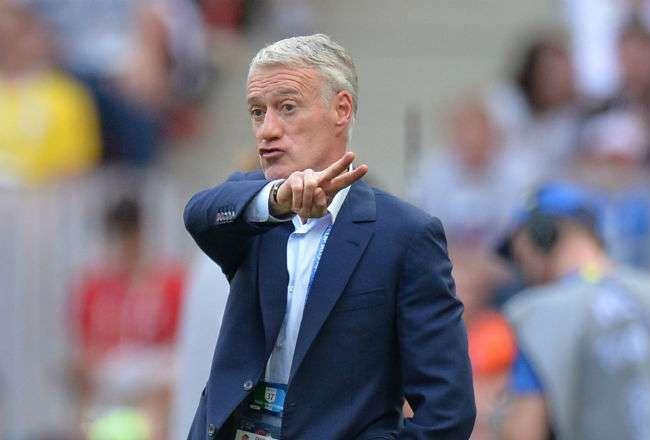 El entrenador de Francia Didier Deschamps. Foto:EFE