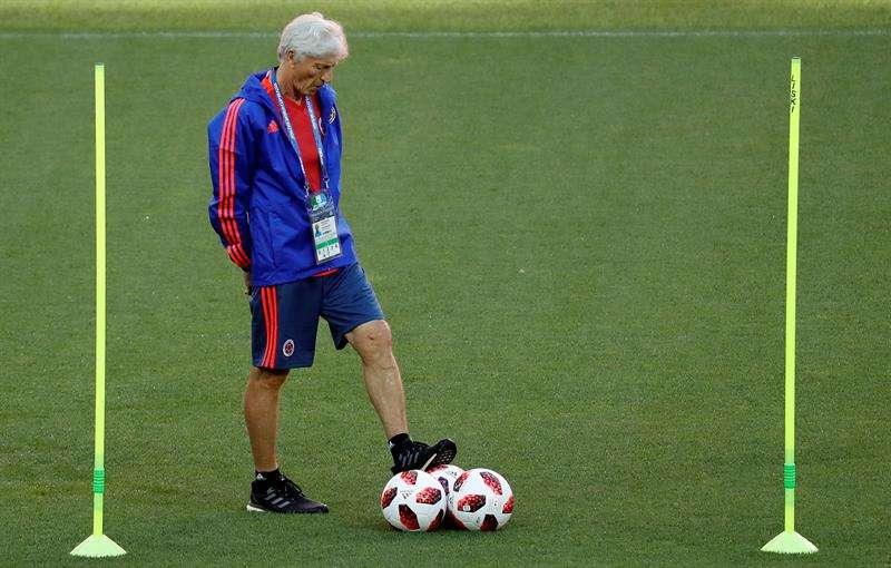 El técnico José Néstor Pékerman, actual seleccionador de Colombia . Foto EFE