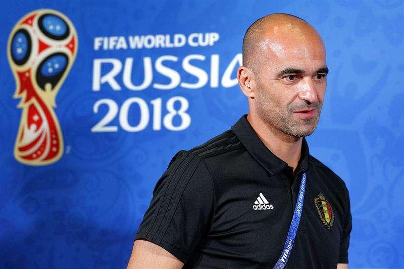 El español Roberto Martínez, seleccionador de Bélgica, elogió a la selección de Brasil. Foto EFE