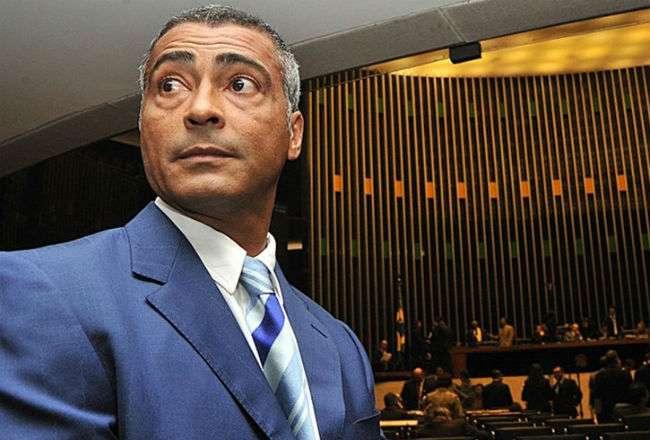 El exjugador de Brasil Romario de Souza.