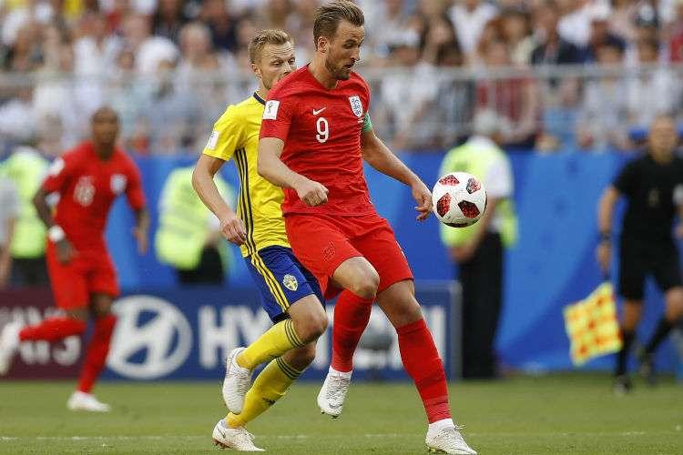 Harry Kane, delantero de la Selección de Inglaterra. Foto: AP