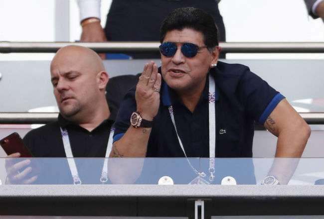 Diego Armando Maradona es considerado uno de los mejores jugadores de la historia.