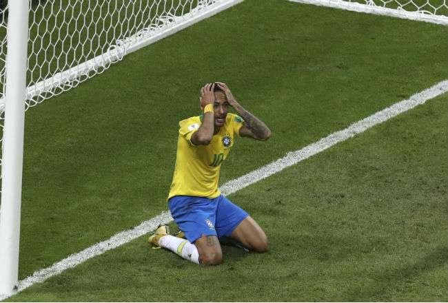 El jugador brasileño Neymar . Foto: AP