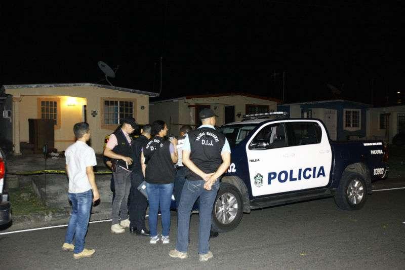 Vista general de la escena del crimen en Nuevo Tocumen. Foto: @Alexander Santamaría Archivo