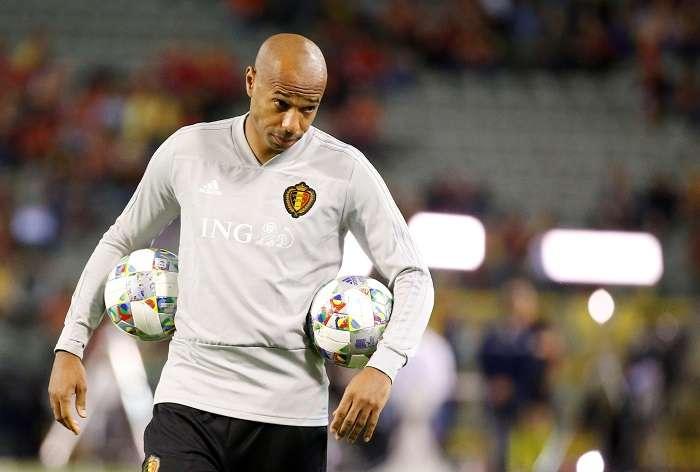 Thierry Henry era el asistente técnico de la selección de Bélgica que enfrentó a Panamá en el Mundial./ EFE