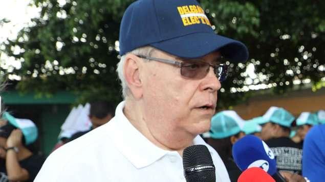 Fausto Fernández, presidente de los Delegados Electorales. Foto: @KwContinente