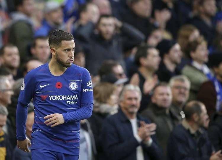 Eden Hazard está concentrado con Bélgica para enfrentarse el próximo jueves contra Islandia. Foto: AP