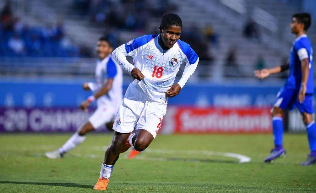 Axel McKenzie anotó el martes pasado el gol del triunfo sobre El Salvador./ Fepafut