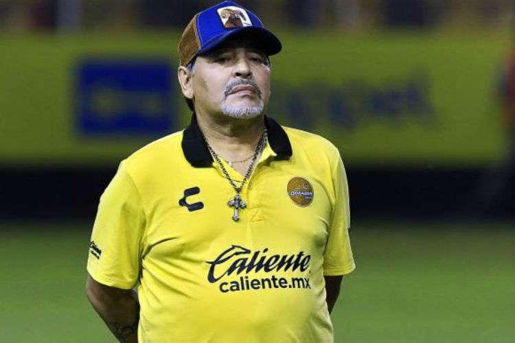 Diego Armando Maradona tuvo una buena temporada con los Dorados de Sinaloa la campaña pasada.