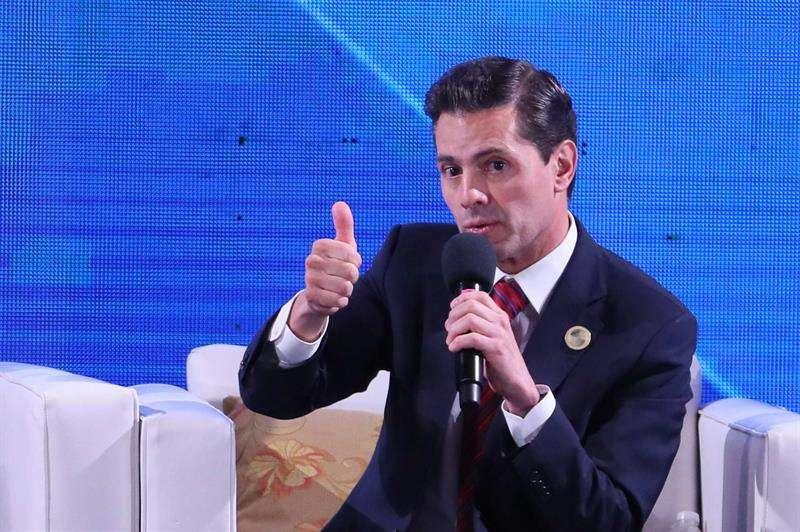 Fotografía de archivo del expresidente de México, Enrique Peña Nieto. EFEArchivo