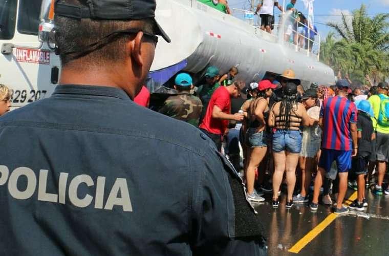 La Fuerza de Tarea Conjunta hizo cobertura en varios puntos del país.