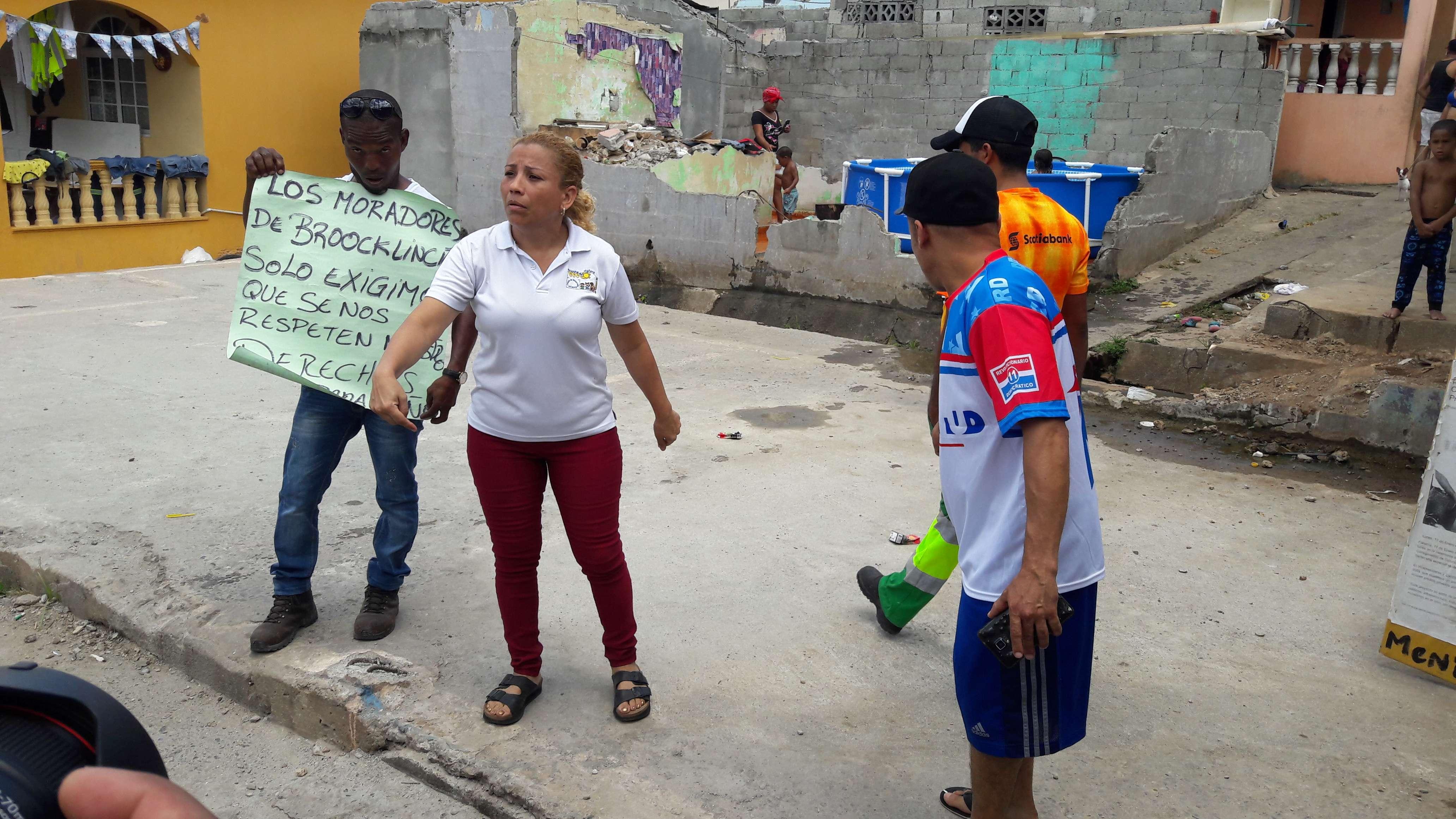 Piden que las autoridades respeten sus derechos. Fotos: Jean Carlos Díaz