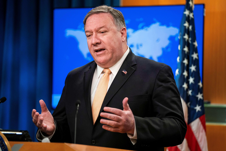 Mike Pompeo recalcó que con esta decisión se está acelerando la campaña de presión contra Irán.